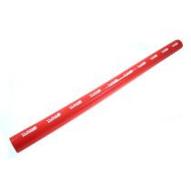 Szilikon összekötő, egyenes TurboWorks Piros 57mm 100cm